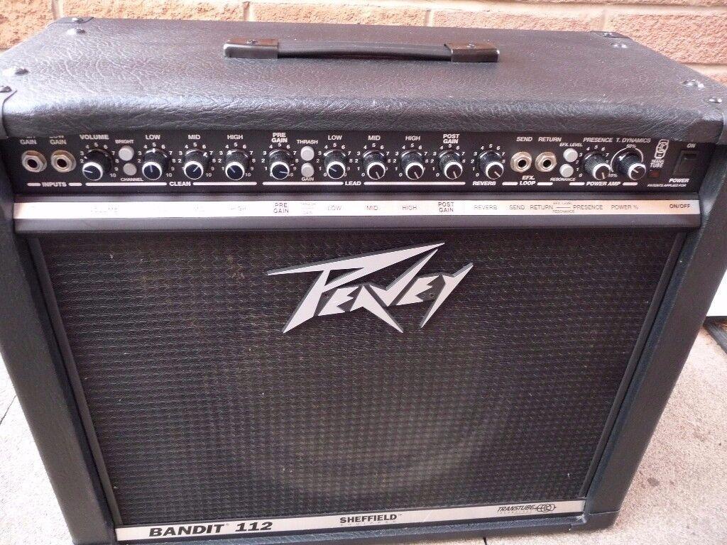 Amplifier comboGuitar amp Peavey Bandit 100 watts