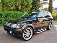 2007 Range Rover HSE Sport great extras Sunroof superb example!