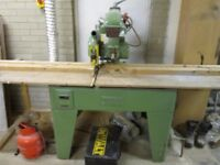 CROSS CUT SAW, MORTISER , PLANER THICKNESSER RIPSAW COMBI & DUST EXTRACTOR