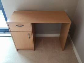 Wooden office desk - good condition