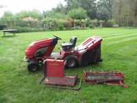 Countax RIde on Mower C400h