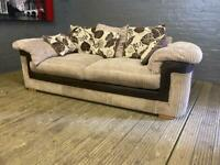 HARVEYS LULLABY FABRIC SOFA IN EXCELLENT CONDITION