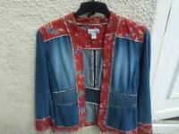 Denim Vintage Jacket size 10