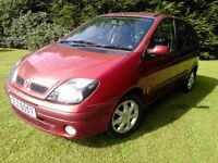 2003 Renault scenic 1.4 petrol full year mot cheap to clear