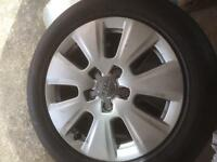 """Audi A3 16"""" stock alloys with tyres"""
