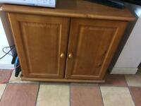 Hygena oak cabinet