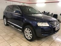 !!4X4!! 2005 VW TOUAREG 2.5 TDI SPORT / AUTOMATIC / FULL SERVICE HISTORY / FULLY LOADED / TOW BAR