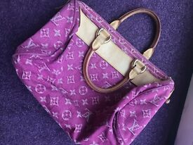 AUTHENTIC LOUIS VUITTON NEO SPEEDY PINK EDITION. HANDBAG. EXCELLENT CONDITION. VINTAGE. 100% REAL