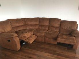 Large Harvey's corner sofa