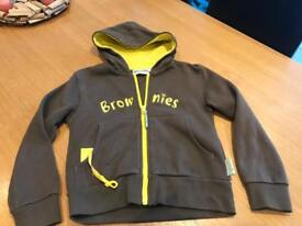 "BRONWIES HOODY 28"" CHEST . EXCELLENT CONDITION £5"