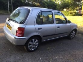 Nissan Micra, Automatic, Great Runner, New MOT, Reluctant Sale.
