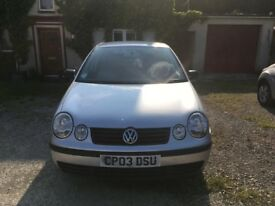 VW Polo, diesel, full history, regularly serviced, economical, new battery, MOT until July 2018