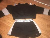 Tommy Hilfiger jumper and shorts set