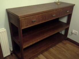 Dining room table and dresser