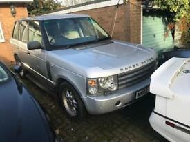 02 Range Rover Vogue for sale