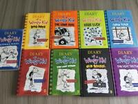 9 'Diary of a wimpy kid ' books