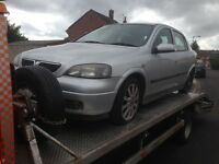 VAUXHALL ASTRA SPORT 1.6 TWINPORT SILVER 2005.