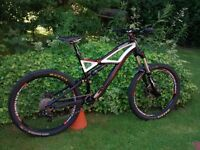 Specialized Enduro FSR Comp 2011 Large, 1x10, loads new parts, very good condition