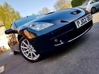 2002 Toyota Celica 1.8 Petrol, 6 Speed Manual, Carbon Black,190 BHP Full MOT & Full Service History.