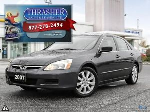 2007 Honda Accord EX V6, LEATHER, SUNROOF, MORE!!!