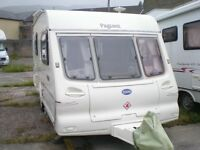 Bailey Pageant Imperial 2000 2berth with Caravan mover Solar panel Air Porch awning +Full awning Ect