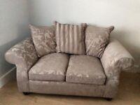 Grey small sofa