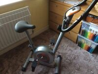 Exercise Fitness Bike - brand new (used literally just once)