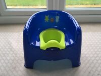 LITTLE MONSTERS POTTY CHAIR- LIKE NEW