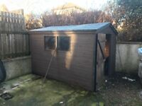 10x8ft Garden Shed