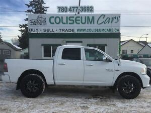 2014 Dodge Ram 1500 SLT, OUTDOORSMEN, 4X4, REMOTE STARTER,68KM