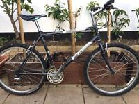"Ridgeback mountain sport hybrid bike. 21"" Large frame. 26"" Wheels. Fully working"