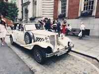 wedding car hire - bridal car hire - family limo hire - classic car hire - groom car hire