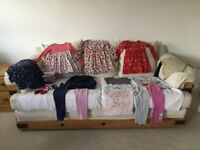Bundle girls clothes age 4 to 5 years.