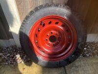 space saver wheel 135/70/r13 off hyundai i20