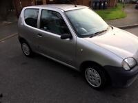 Fiat seicento mia 2003 03 reg low mileage
