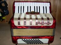 Hohner Concerto I, 2 Voice, 48 Bass, Original Reeds, Excellent Condition, Excellent Piano Accordion.