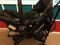 Obaby car seat and stroller