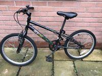 Kids Boy Mountain Bike in Black