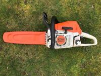 """Stihl MS251 Petrol Chainsaw- 16"""" new bar and chain - serviced"""
