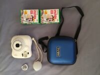 instax mini 25 polaroid camera+accessories and 40films in prisitine condition on sale for £70