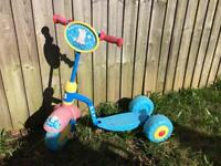 Peppa Pig 3 Wheel Scooter