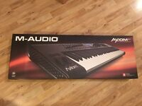 M-AUDIO Axiom 61 Advanced 61-Key Semi-Weighted USB MIDI Controller ALL IN BOX CHEAP PRICE !