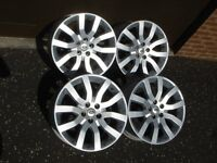 "RANGE ROVER 20"" V SPOKE ALLOY WHEELS"