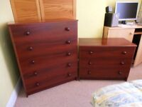 5 DRAWER and 3 DRAWER CHEST