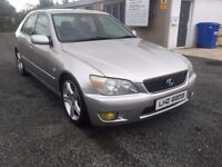 2003 lexus Is200 ,,,LSD DIFF. MOT.20.09.18..PRICE;£ 1890 ono px/exh