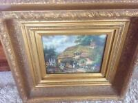 stunning old oil painting