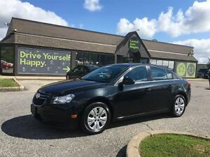 2013 Chevrolet Cruze LT Turbo/CARPROOF CLEAN/CLOTH/SUNROOF/BLUET