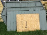 4 x 3 Oxford Wooden Shed. Shiplap Construct. New ( old stock)