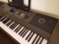 Yamaha Electric Keyboard For Sale like new, hardly used, unrequired gift.