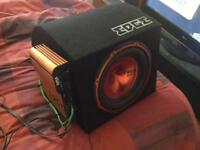 EDGE 400W sub and amp